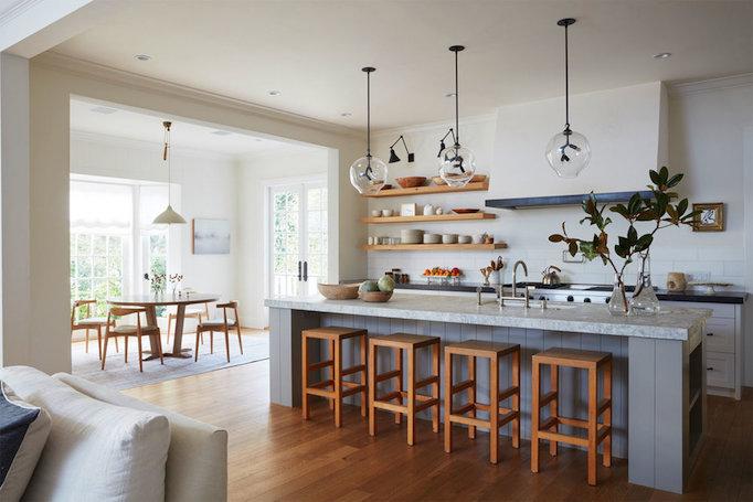 Dream home a sun filled brentwood farmhouse becki owens for Kitchen depot little falls nj