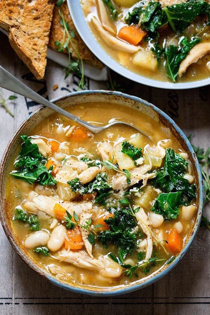 5 healthy soup recipes for fallbecki owens for How to make healthy soup for dinner