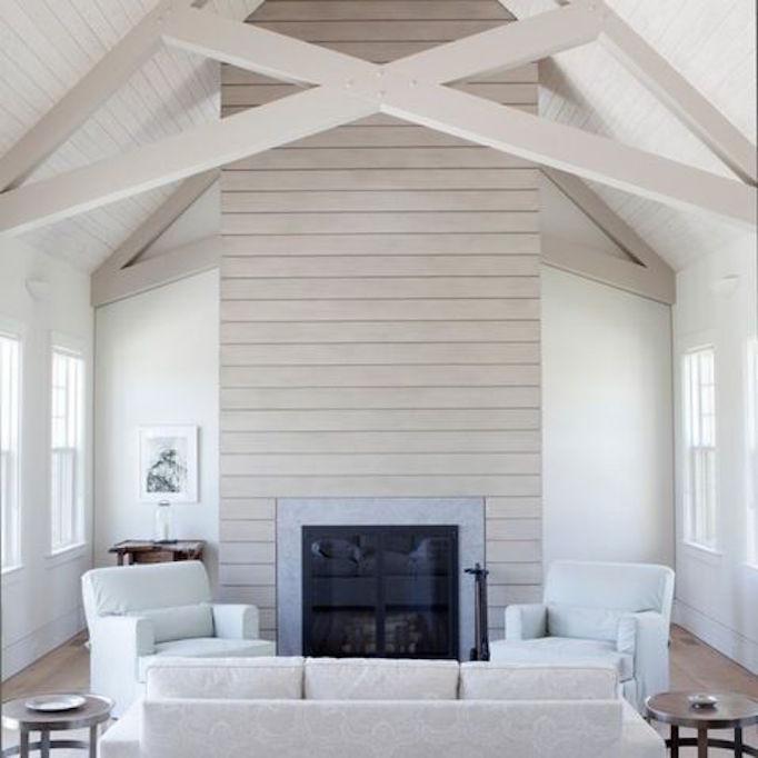 16 ways to use natural wood beams becki owens for Natural wood beams