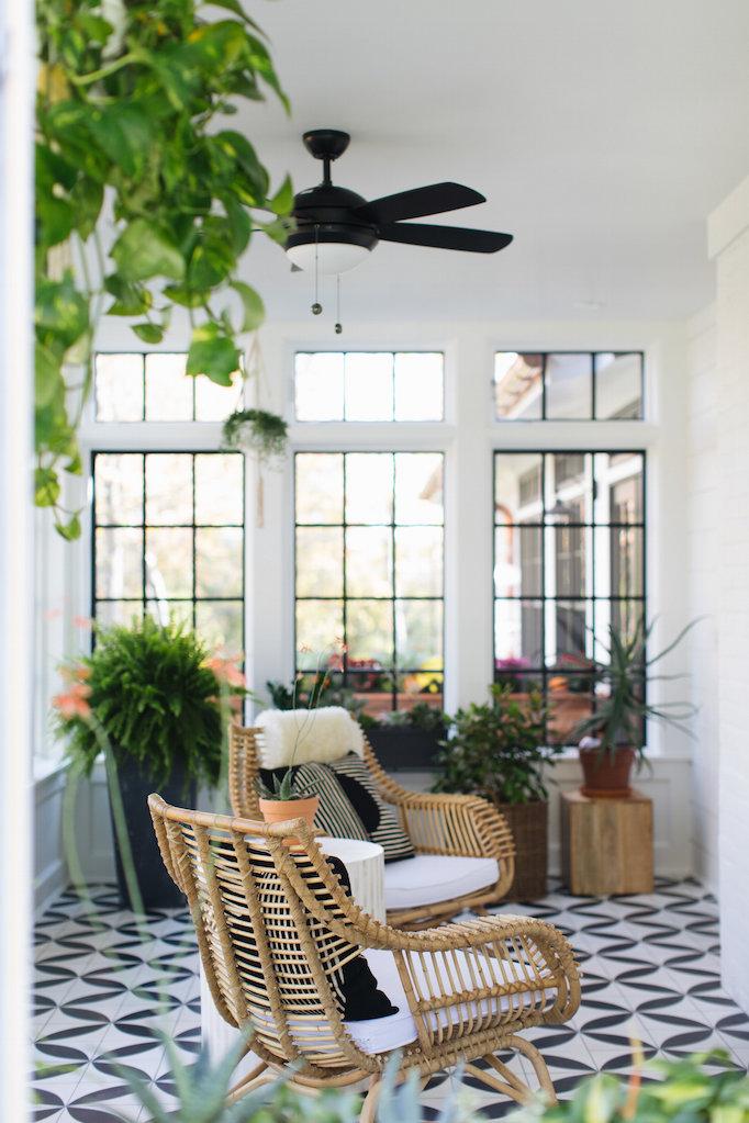 Sunroom Living Room Combo