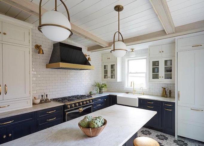 Kitchen Design Inspiration 3 Blue Beauties Becki Owens