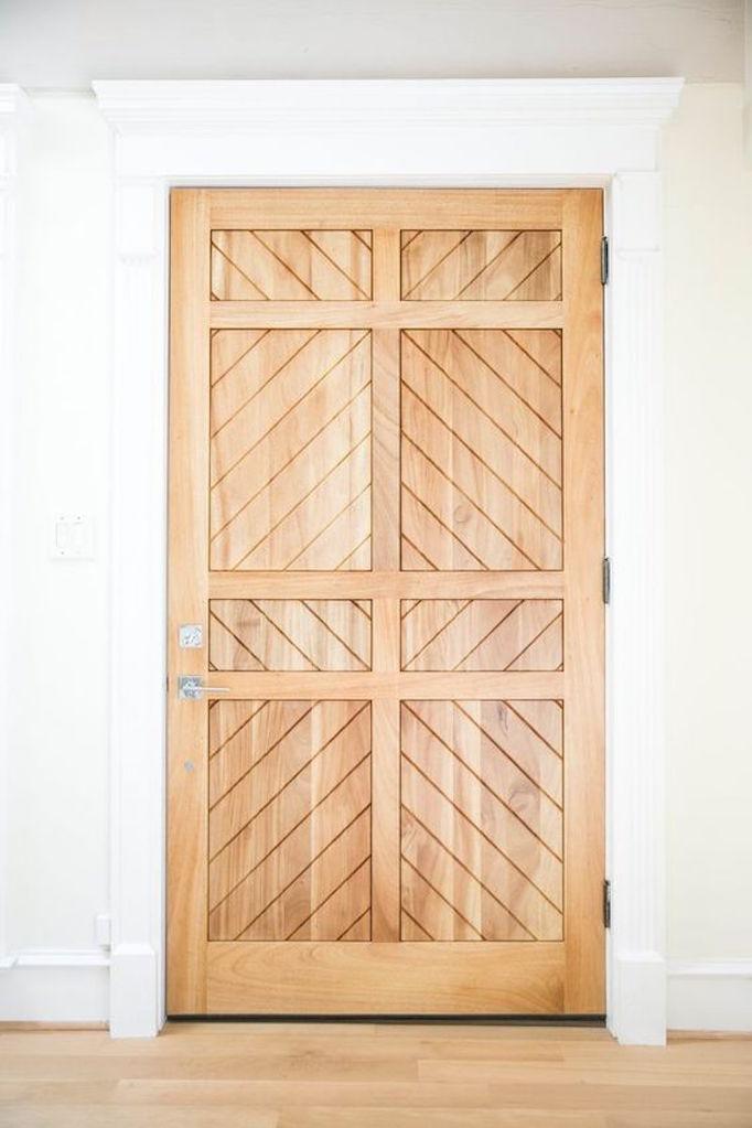 Exterior Design Trend Light Wood Doorsbecki Owens