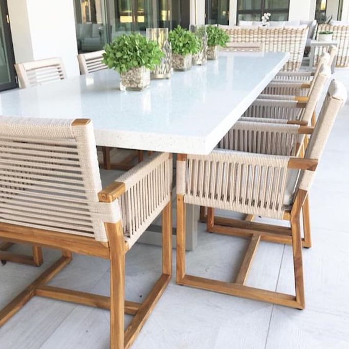 Dining Chair Trends For 2016: Outdoor Dining Furniture TrendsBECKI OWENS