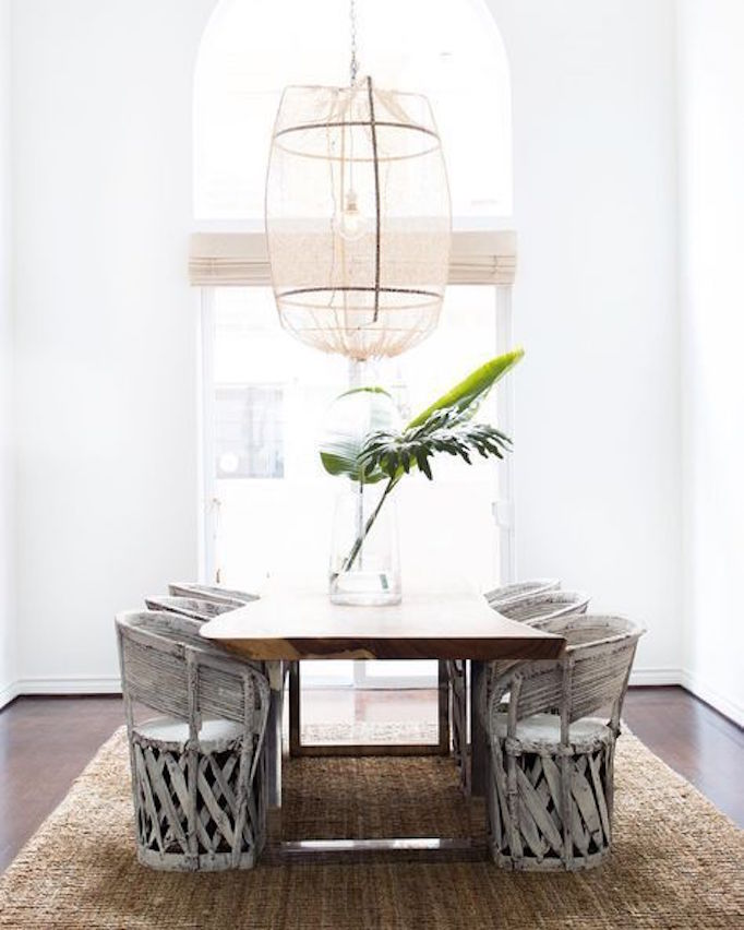 20 Tropical Dining Room Ideas For 2018: Design Trend: Tropical ChicBECKI OWENS