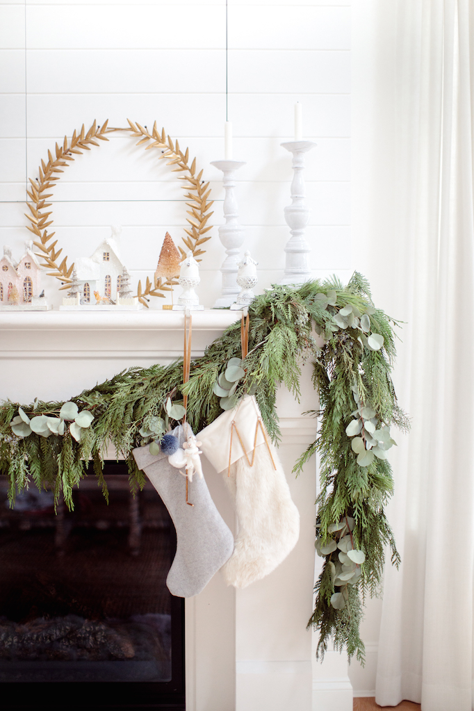 The Holiday Mantel 10 Ways