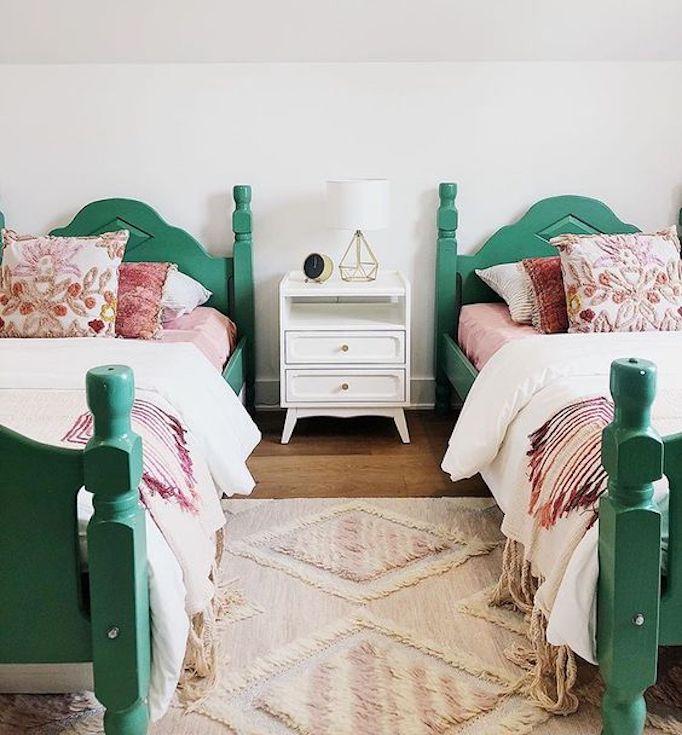 Warm Bedroom Color Schemes: Color Trends Of 2019: Shades Of GreenBECKI OWENS
