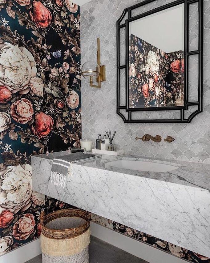 Design Trend 2019: Floral WallpaperBECKI OWENS