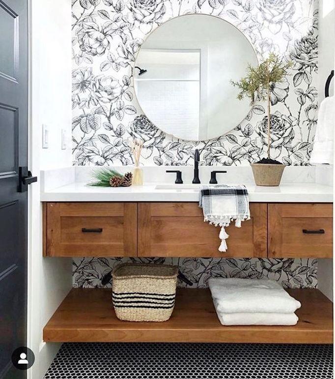 Design Trend 2019: Floral Wallpaper