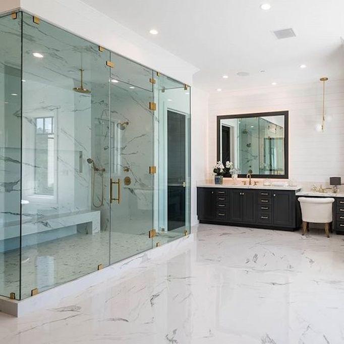 Dream Bathroom: Dream Home: A Luxurious Modern Farmhouse In Encino