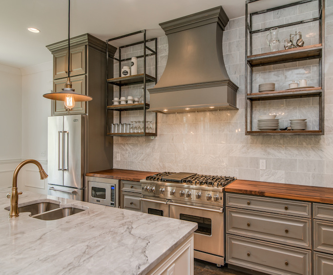 Rustic Gray Kitchen Cabinets Quicuacom