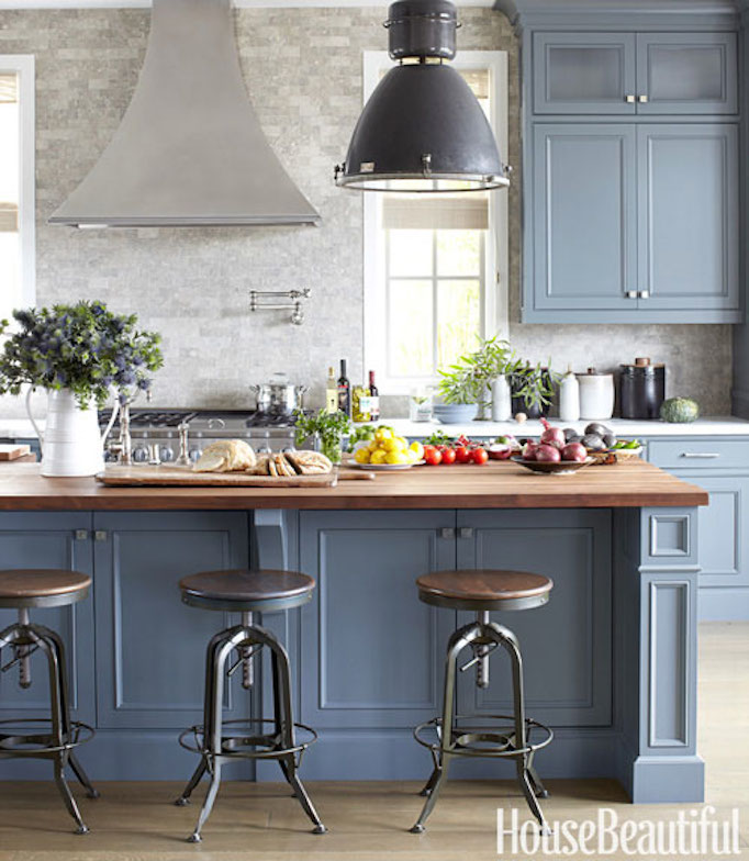 Are Painted Kitchen Cabinets Durable: Q+A: Choosing Butcher-Block Countertops