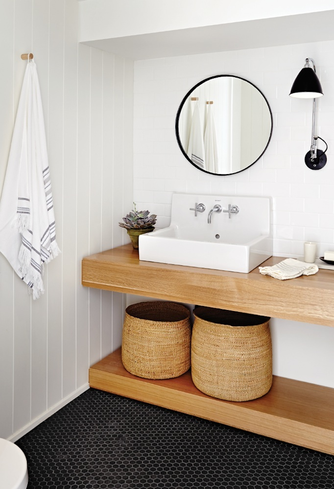 Bathroom Trends - Floating Vanities