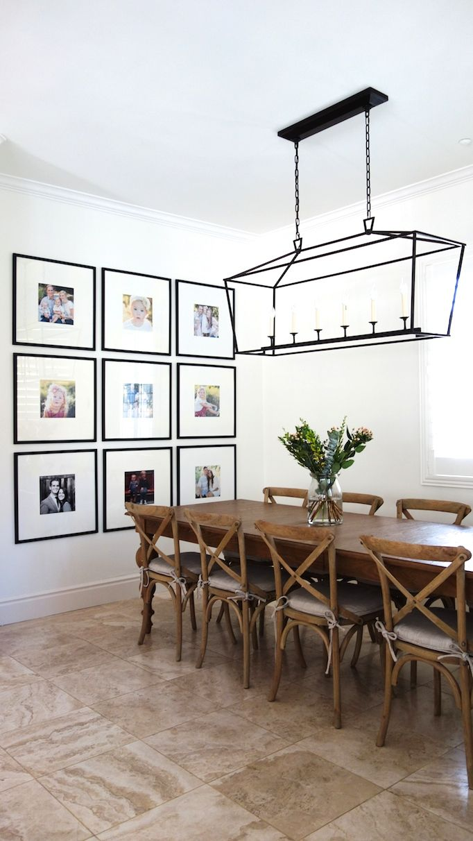 Guest prep dining roomsbecki owens for Wall art ideas for the dining room