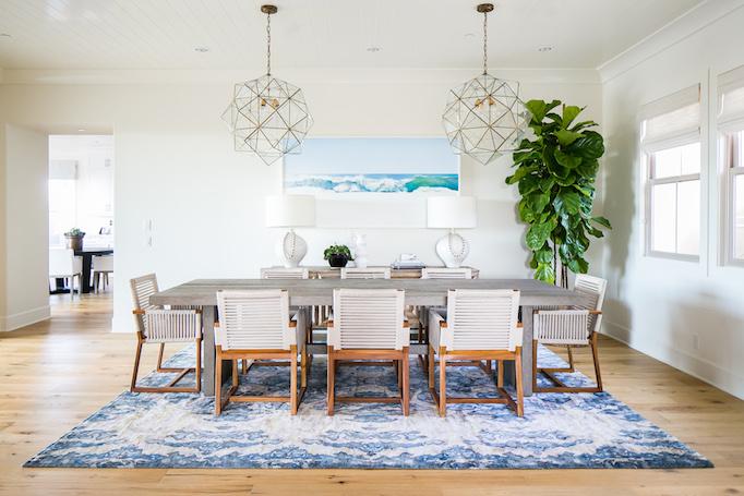 Estillo Project Modern Coastal Dining Roombecki Owens