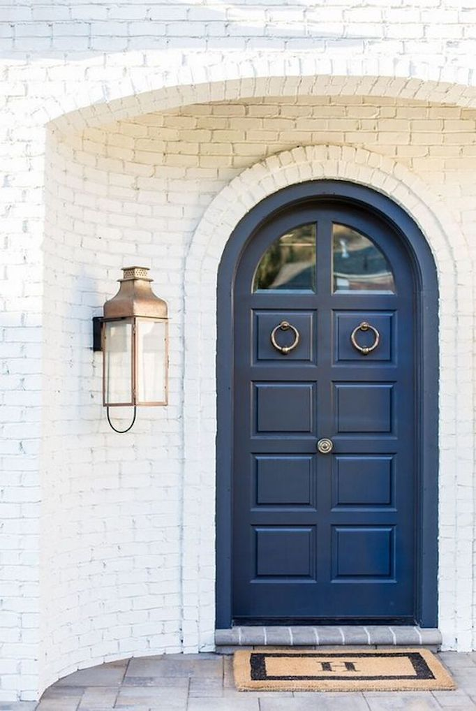 Spring Curb Appeal: Painted Front Doors + Paint Guide