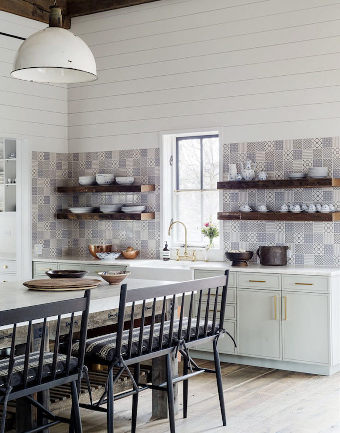 Modern Farmhouse Kitchen Backsplash dream home: amazing eclectic modern farmhousebecki owens