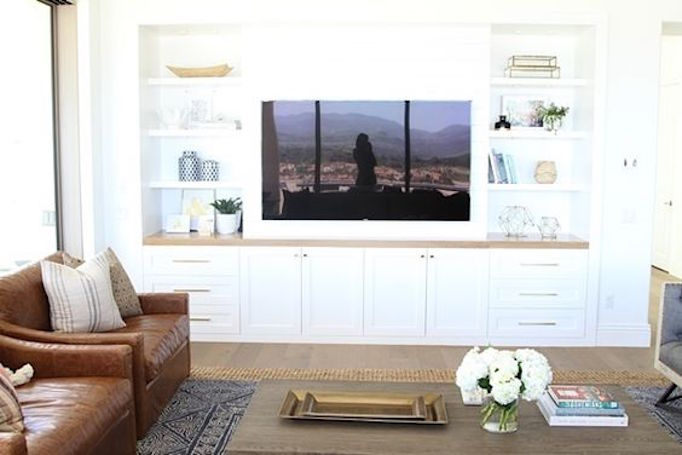 10 Ideas for Media Wall Built-ins