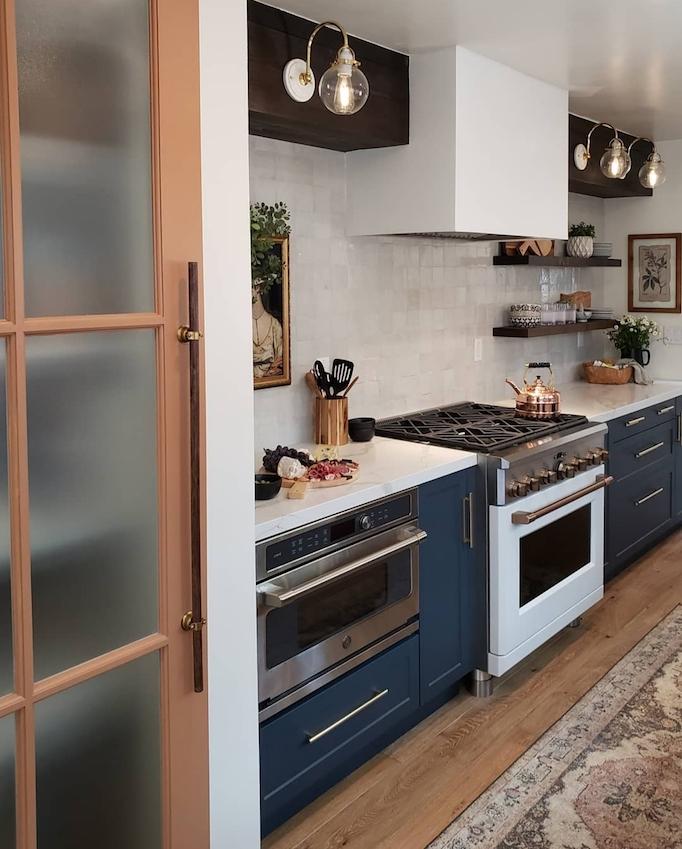 2020 Paint Trend: 5 Classic Blue Kitchens - BECKI OWENS
